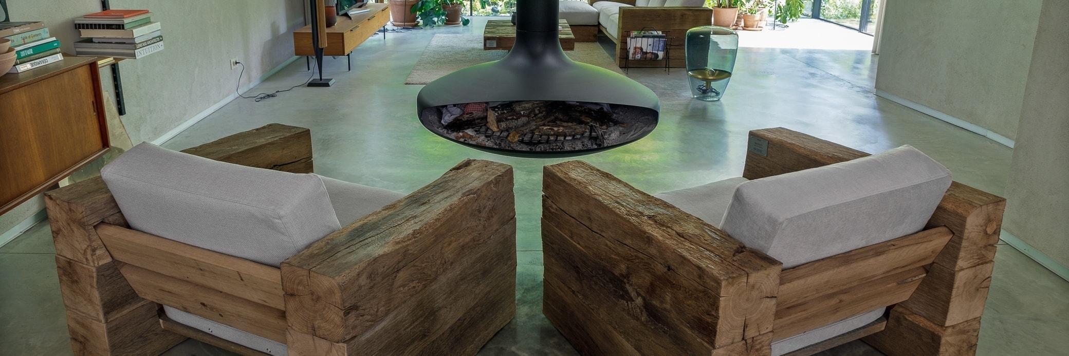 Rustic & Reclaimed Oak Wooden Armchair   Made in France   Oakâme