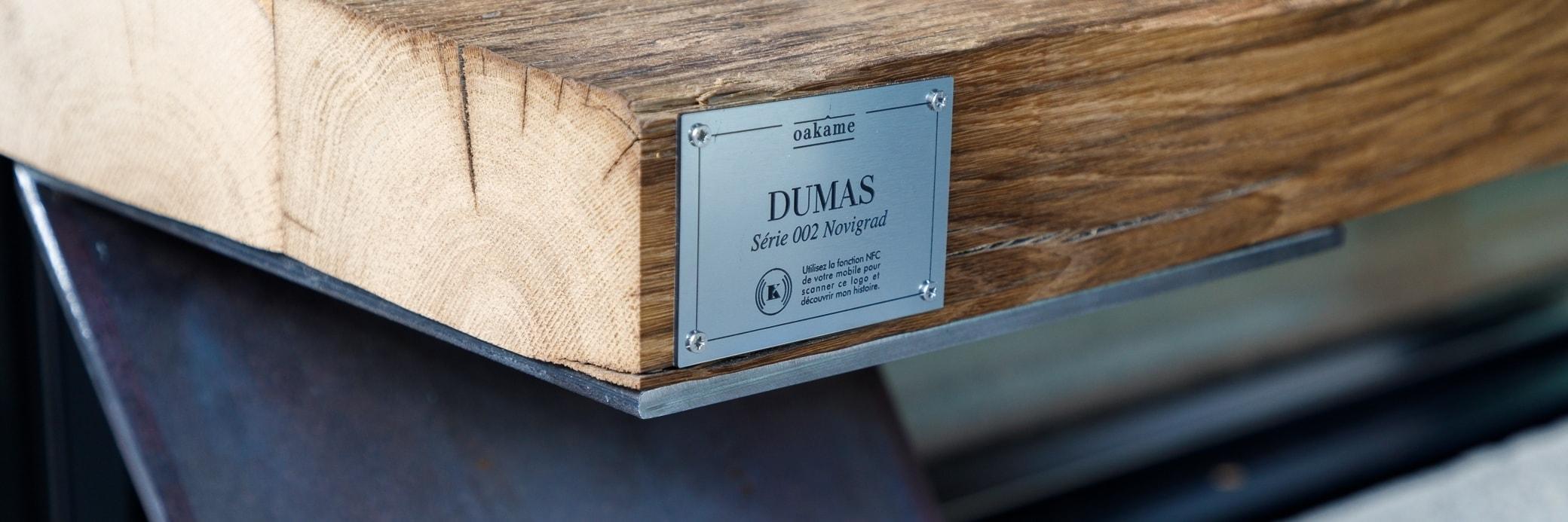 Outdoor Oak Wooden Bench - Made in France - Oakâme